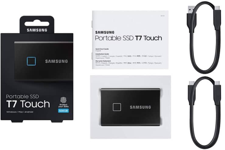 Samsung Touch Portable SSD