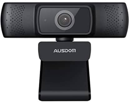 AUSDOM AF640 Full HD 1080p 30fps Video Calling Autofocus Web Camera with Microphone