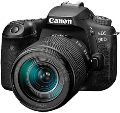 Canon DSLR Camera [EOS 90D] with 18-135 is USM Lens