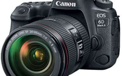 Canon EOS 6D Mark II DSLR Camera body research review with EF 24-105mm USM Lens – wifi enabled