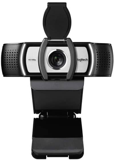 Logitech C930c HD Smart 1080P Webcam with Cover for Computer Zeiss Lens USB Video Camera 4 Time Digital Zoom Web cam