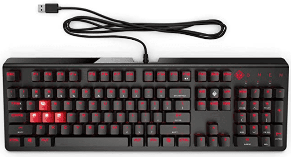 OMEN by HP Wired USB Gaming Keyboard for better gaming experience